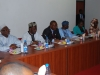 Board Members of ICPC before the Senate Committee on Drugs, Narcotics and Anti-Corruption