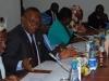 Mr E.E Oglafa, Secretary to the Commission briefing the Senate Committee