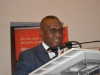 Secretary to the Commission, Dr. Elvis Oglafa, who represented the ICPC Chairman, Mr. Ekpo Nta, speaking during the workshop