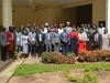 A group photograph of participants at the workshop