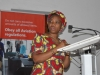 Ag. National Coordinator SERVICOM, Nnena Akajemeli speaking at the training