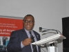 Secretary to the Commission, Dr. Elvis Oglafa speaking at the training
