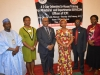 (L-R) Nasir Said, SERVICOM Officer I, Nneka Oleh, SERVICOM Desk Officer for ICPC, Dr. Elvis Oglafa, Secretary to the Commission, Nnenna Akajemeli, Acting National Coordinator, SERVICOM, Gad Bako, Head, Administration Department and SERVICOM Nodal Officer, ICPC and Jummai Abdullahi, Team Leader C, SERVICOM Office, at the training