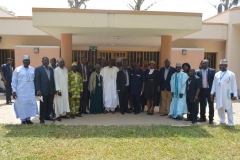 The new exco members in a group photograph with ICPC staff