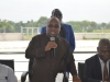 Vice Chancellor, National Open University of Nigeria, Professor Abdalla Uba Adamu speaking during the inauguration