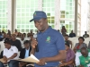 The new ACTU chairman, Mr. Ifeanyi Ikenze giving his acceptance speech after the inauguration