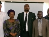 Exec. Sec. PTAD, Mrs. Sharon Ikeazor and Mr. Justin Kuatsea of ICPC, in a group photograph with the new ACTU exco members