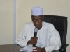 Coordinating Director, Mr. Mohammed Abba Aliyu, who represented the Chief Commissioner, PCC, speaking at the inauguration