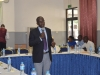 Mr Akeem Lawal, Head, Corruption Monitoring and Evaluation Department (CMED) delivering his lecture