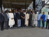 Dr. Olatunji and Mr. Lawal, in a group photograph with the participants