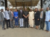 Dr. Vincent Olatunji and Mr. Akeem Lawal, in a group photograph with ACTU members