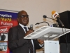 Mr Geoffrey Anumve, Head of Eduation Department, ICPC giving his welcome address