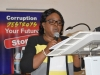 Chief Registrar of NABTEB, Prof. (Mrs.) Ifeoma Isiugo, speaking at the event