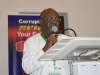 Founder, Exam Ethics Marshall International, Mr. Ike Onyechere, speaking at the event