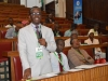 A participant contributing during the interactive session
