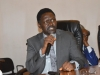 Mr. Ebenezer Shogunle, Assistant Commissioner, Prosecution Department, answering questions during the interactive session
