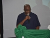 ACAN Provost, Prof. Sola Akinrinade, delivering his speech at the summit