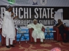 Bauchi State Deputy Governor, Nuhu Gidado delivering a goodwill message at the summit
