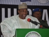 His Excellency, Governor Mohammed Abdullahi Abubakar, delivering his address at the summit