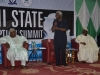ICPC Chairman, Mr. Ekpo Nta speaking during the interactive session at the summit