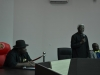 ICPC Chairman, Mr. Ekpo Nta speaking at the Bayelsa State Government House