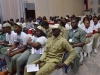A cross-section of Youth Corps members at the summit