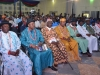 A cross-section of traditional rulers at the summit