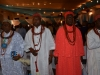 A cross-section of traditional rulers present at the summit