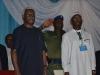 ICPC Chairman, Mr. Ekpo Nta (L) and Delta State Governor, Senator Ifeanyi Okowa, at the summit