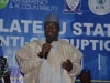 Deputy Speaker of the Plateau State House of Assembly, Hon. Yusuf Gagdi, speaking at the summit