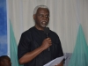 ICPC Chairman, Mr. Ekpo Nta, delivering his speech at the summit