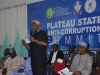 ICPC Chairman, Mr. Ekpo Nta speaking during the interactive session