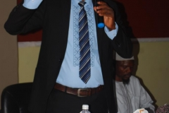 Mr Jimoh Sulahiman of the Education Department ICPC, delivering a paper during the workshop