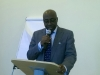 Pof. Sola Akinrinade, Provost, Anti-Corruption Academy of Nigeria (ACAN), delivering his address at the programme.