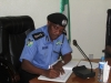IG of Police Solomon Arase filling the Guest Register
