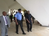 ICPC Chairman Ekpo Nta seeing IG of Police Solomon Arase off