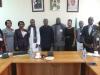ICPC Chairman Ekpo Nta with Members of University of Ibadan Alumni Association, Abuja Branch