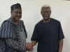 Acting Director-General of BPP, Engr. Ahmed Abdul in a handshake with ICPC Chairman, Mr. Ekpo Nta