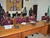 Delegation of FRSC during the courtesy call.