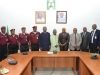 Members of the delegation from FRSC in a group photograph with ICPC Management.