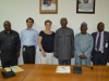 UNODC Delegation in a group photograph with ICPC team