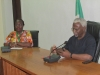 Director-General NAFDAC Mrs. Yetunde Oni with ICPC Chairman Mr. Expo Nta