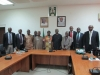 Delegation of NAFDAC in a group photograph with ICPC Team