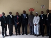 4th from right, Chairman of ICPC, Mr. Ekpo Nta, who is flanked to the right by the Alternate Chairman of NBA`s Anti-Corruption Commission, John Olusola Baiyeshea, SAN and to the left by Hon. Bako Abdullahi of ICPC. Secretary to the Commission, Mr. Elvis Oglafa is on the right hand side of John Olusola Baiyeshea, SAN and other members of the delegation of the NBA`s Anti-Corruption Commission.