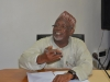 Board Member, Hon Bako Abdullahi who represented ICPC Chairman, Ekpo Nta giving his remarks during the visit