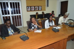 A cross section of Connected Development [CODE] officials during the courtesy visit