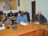 (R-L) Dr. F. Adeyemi, Director Research and Training representing the Director-General, National Institute for Legislative Studies; Hon. Sunday Olajide, Chairman, Ondo State House of Assembly Committee on Finance and Appropriation, and member Public Accounts Committee (PAC); and Hon. Kemisola Adesanya, member Public Accounts Committee (PAC)