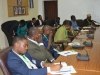 A cross-section of members of the Public Accounts Committee of the Ondo State House of Assembly during the visit