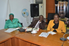 A cross-section of ICPC management staff during the visit