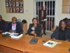 A cross section of members of the committee during the visit
